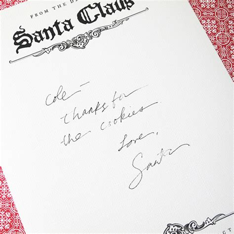 Thank You Letter Template Santa The Inspired Creative One 10 Ways To Prove Santa Exists