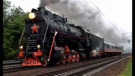 imagenes locomotoras antiguas locomotoras de vapor sovi 233 ticas youtube