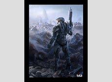 Halo 4 Concept Art by John Wallin Liberto | Concept Art World Jedi Wallpaper