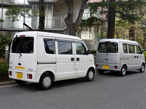 Suzuki Scrum Minivan File Suzuki Every Da64 Mazda Scrum Dg64 Rear Jpg
