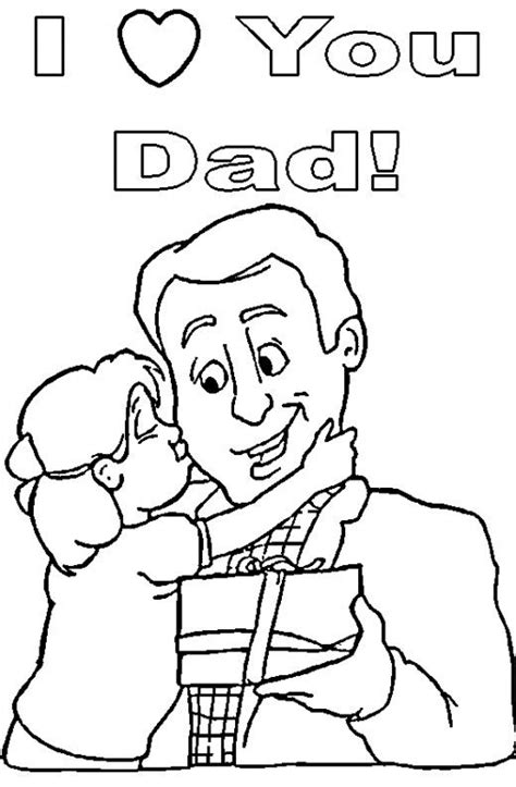Coloring Page Fathers Day by S Day Coloring Pages Coloring Dads And S
