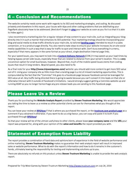 explanation report sle web analysis report sle 28 images sle of analysis