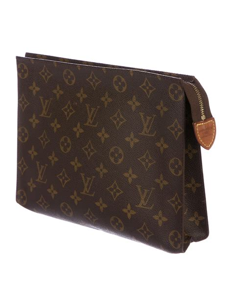 louis vuitton monogram toiletry pouch  bags