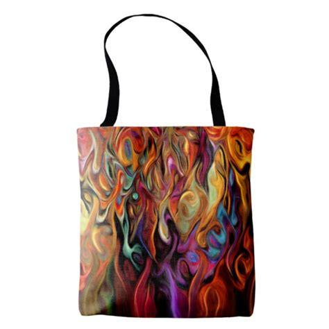 colorful tote bags colorful abstract tote bag a color adventure