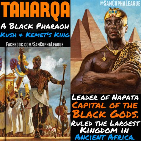 ancient african kings sancopha league libernation taharqa was one of the