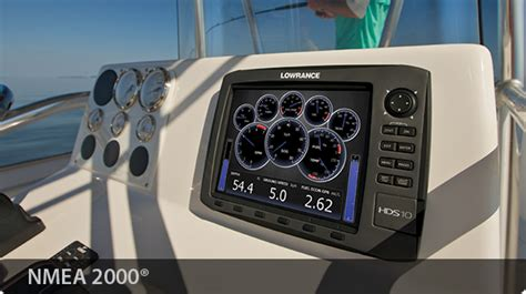 boat combo gauges engine nmea 2000 174 lowrance