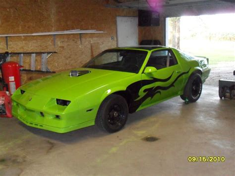 bright green camaro i want to paint my car bright green factory options