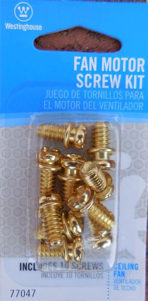 ceiling fan motor screws fan motor kit westinghouse 10 brass motor