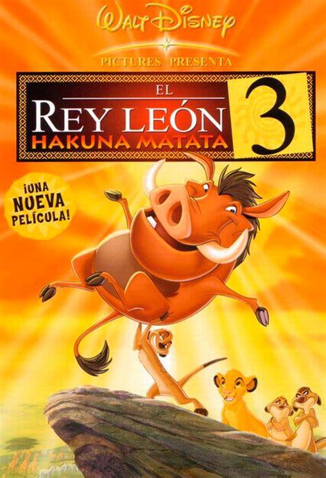film roi lion 1 affiche du film le roi lion 3 hakuna matata affiche 2