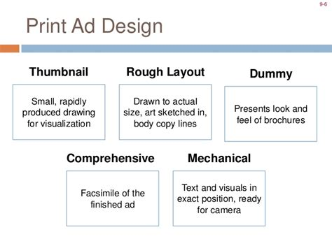 layout meaning in advertising mcom 341 18 creative execution prod