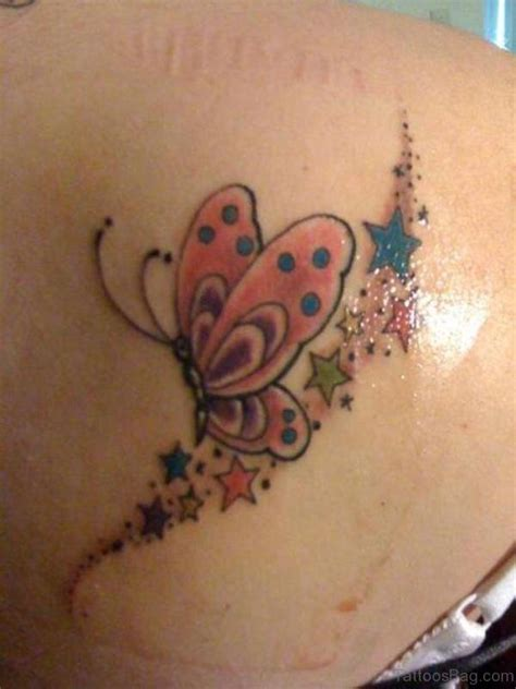tattoo butterfly and stars 17 best butterfly and star tattoo on shoulder