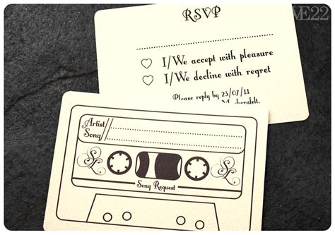 Wedding Song Request Card by Song Requests From Our Guests Yay Or Nay The Knot