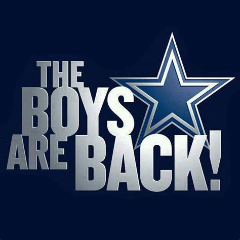 cowboy pictures football cowboys damn right the boys are back feasta in