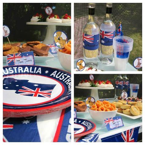 australian themed decorations australia day celebrations