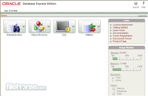 tutorial oracle 11g express edition pdf oracle database express edition 11g release 2 32 bit
