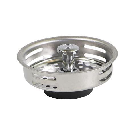 Sink Drain Baskets by Everflow 7621 Stainless Steel Kitchen Sink Strainer Basket