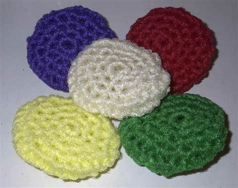 knitted scrubbies netting scrubbies