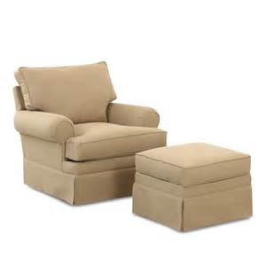 gliding chair and ottoman klaussner chairs and accents carolina glider chair with