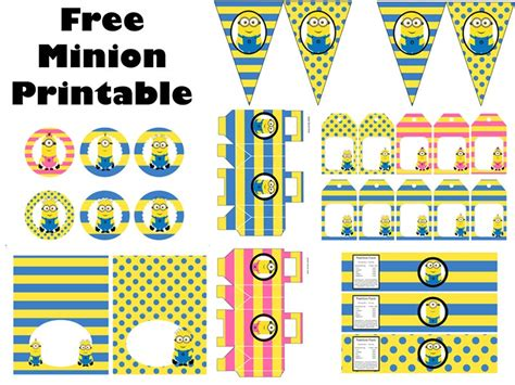 printable birthday theme ideas free minion party printable birthday party ideas themes