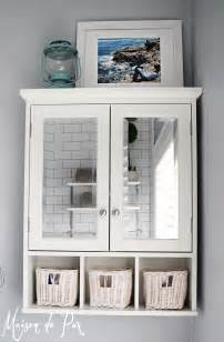 medicine cabinet above toilet how to design a small bathroom