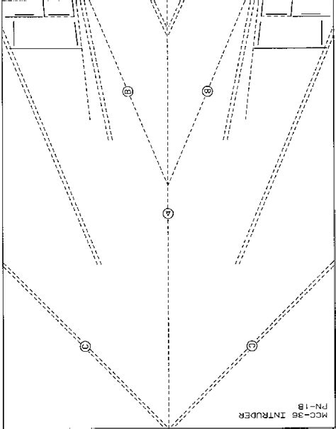 simple paper plane template paper airplane the paper air machines