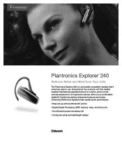 Couldn't Pair Incorrect Passkey. | Plantronics Explorer