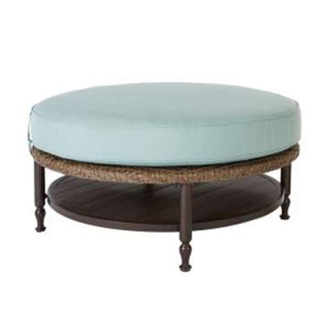 hton bay bolingbrook patio ottoman coffee table