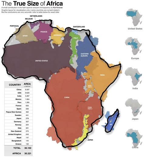 map of africa with countries labeled r 243 żne visualamor did you the scale of africa on most maps