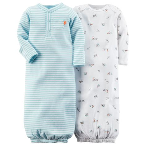 Baby Sleeper Gowns by 2 Pack Sleeper Gowns Babies