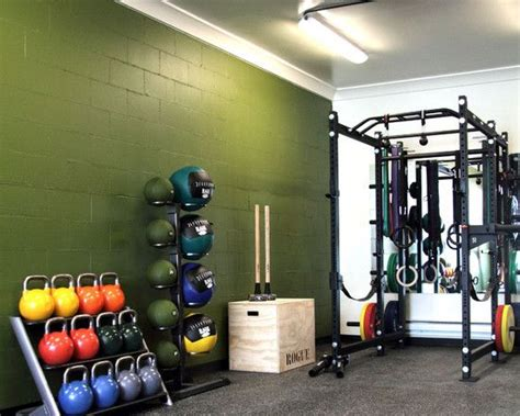 Garage Crossfit by Basement Garage Crossfit Home Cave