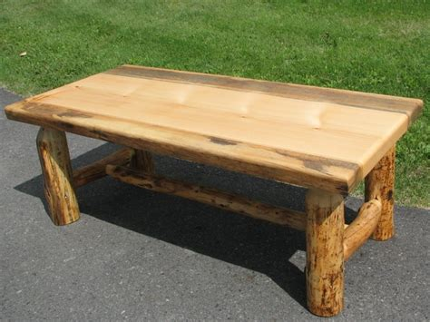 Knotty Pine Coffee Table Knotty Pine Log Coffee Table Log Furniture