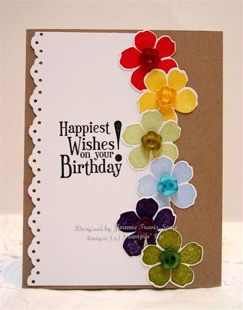 card ideas uk 256 best cards w flower punches images on