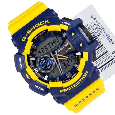 G Shock Ga400 Putih Biru casio g shock blue x yellow ga 400 9b ga400 ebay