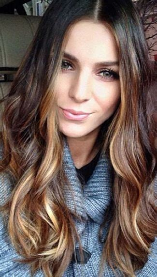 accent highlights chic inspiration must try fall hairstyles