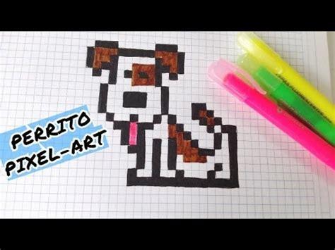 draw handmade pixel art  como dibujar un perrito youtube