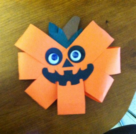 Construction Paper Pumpkin Crafts - 46 best pumpkin crafts images on