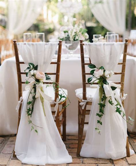 White Wedding Chairs by It S A Day For A White Wedding Wedding
