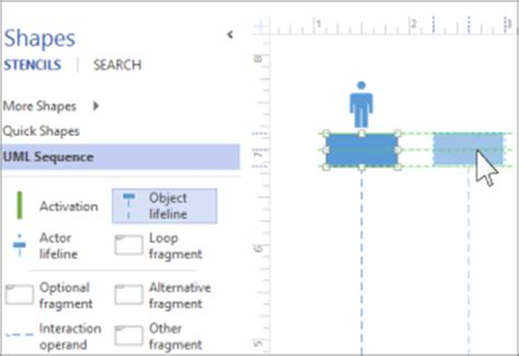 visio 2013 uml sequence diagram create a uml sequence diagram office support