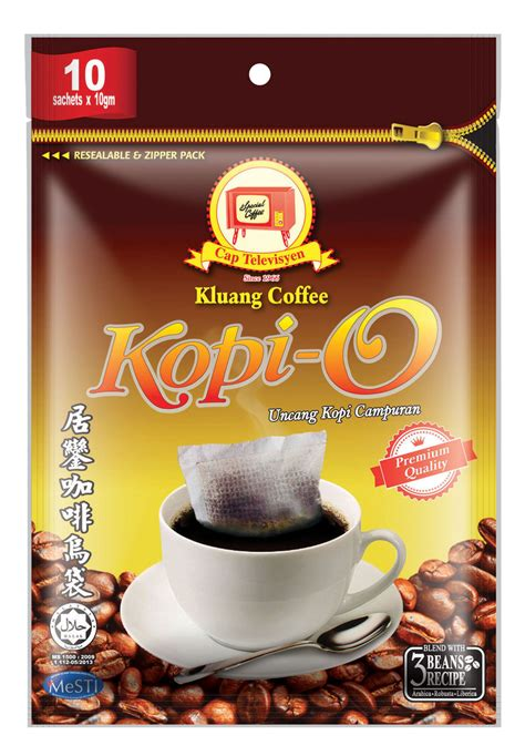 Kopi Coffee Energizing Mix Coffee beverages premix drinks coffee kluang coffee cap tv kopi o 10 s