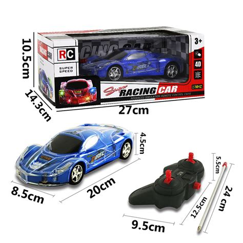 light up remote car 4wd 1 24 rc remote light up racing car w 3d