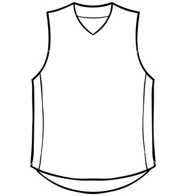Basketball Cut Out Templates Basketball Jerseys Clipart Collection 6 Basketball Jersey Template