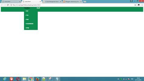 membuat menu dropdown dengan css dan javascript membuat menu dropdown sekantung ilmu