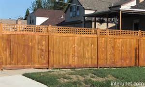 Privacy Fencing Ideas For Backyards Wood Privacy Fence Picture Interunet