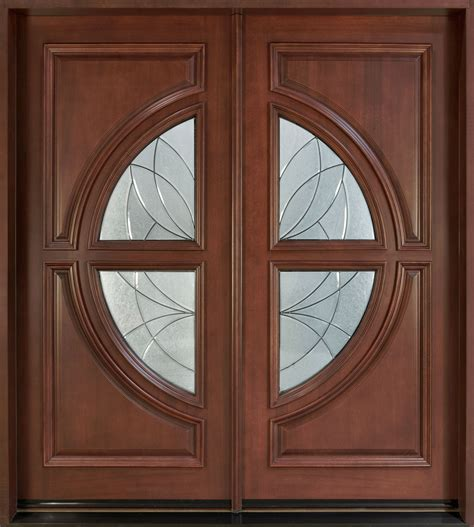 mahogany front entry door front door custom solid wood with medium mahogany finish modern model db 185 cst
