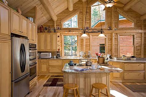 Amish Kitchen Cabinets by 16 Amazing Log House Kitchens You Have To See Hick Country