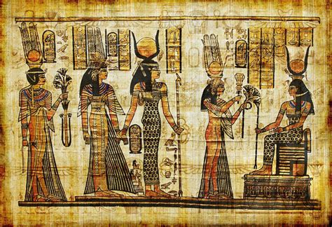 Egyptian Wall Mural ancient egyptian parchment wall mural vinyl pixers