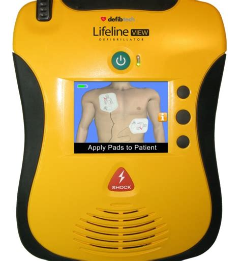 defibtech lifeline view aed aed defibtech lifeline pro aed at 4 480 00
