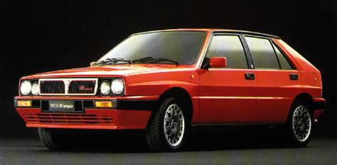 Lancia Hf Delta Integrale 1988 Lancia Delta Hf Integrale Sport Car Technical