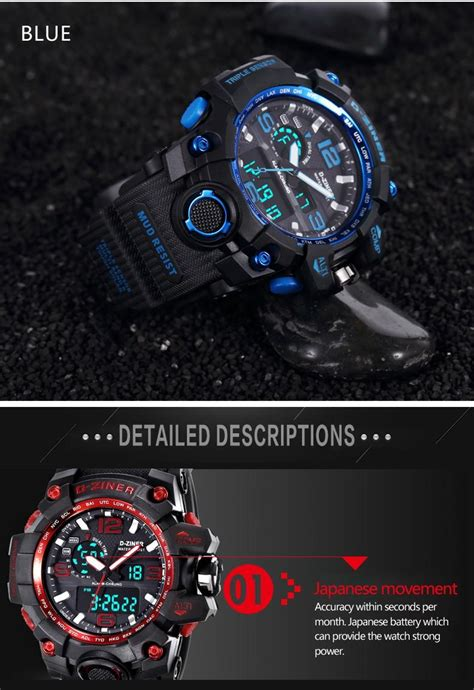 D Ziner New Sport d ziner fashion g style waterproof led sports