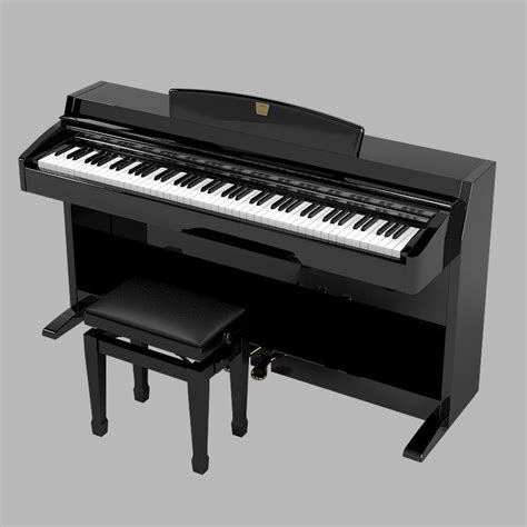 Keyboard Yamaha Clavinova yamaha clavinova digital piano 3d model